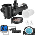 10 15 20 HP Swimming Pool Water Pump In Above Ground Motor Strainer