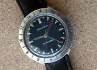 Bulova Accutron ® SS Cal. 214HN Astronaut Watch Leather Strap, Running Nicely