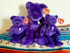 TWO 1ST EDITION Princess Diana Beanie Babies AND BUDDY! RARE RETIRED Collection!
