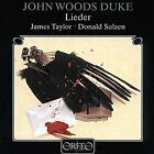 John Woods Duke - Duke - Lieder [CD]