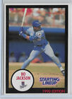 Bo Jackson - 1990 - #NNO - Kenner -Starting Lineup Cards - Extended - Batting