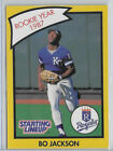Bo Jackson - 1990 - #NNO - Kenner -Starting Lineup Cards Extended - Rookie Year