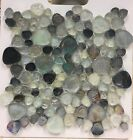 ASLG 23 WILD GRAY Random Pattern Glass Mosaic  5 sheets 85 shipping included