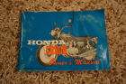 Honda CB500 K1 Owner's Manual