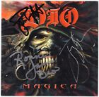 DIO Magica, FULLY SIGNED Ronnie James Jimmy Bain Rainbow Black Sabbath AUTOGRAPH