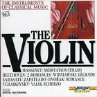 violin : The Instruments Of Classical Music: The CD Expertly Refurbished Product