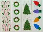 Mrs Grossman Christmas Holiday Individual Misc Sticker Strips You Choose