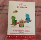 Hallmark Ornament 2016 Beary Colorful Friends Crayola Crayons Teeter Totter