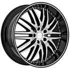 4 Menzari Z04 M Sport 22x85 5x45 +35mm Black Machined Wheels Rims 22 Inch