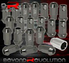 For Suzuki 12X1.25mm Locking Lug Nuts Thread Wheels Rims Aluminum Gray