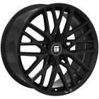 4 Touren TR91 19x85 5x112 +35mm Gloss Black Wheels Rims 19 Inch