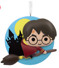 Harry Potter Quidditch Hogwarts Resin Ornament Hallmark Decor Wizard Broomstick