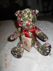 New Boyds Bear Victoria Rosebeary  HB's Heirloom Series NWT