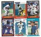 RICKEY HENDERSON 1988 STARTING LINEUP card + 1987 DONRUSS opening day #248