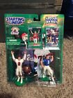 STARTING LINEUP CASE FRESH CLASSIC DOUBLE STEVE YOUNG 49ERS & BYU COLLEGE RARE