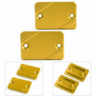 2x Gold FRONT Brake Fluid Reservoir Cap For HONDA PCX125/150 2018 FORZA 125 300