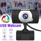 HD 1080P Computer Camera Webcam Built-in Microphone For LCD Desktop Laptop I