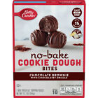 Betty Crocker No-Bake Cookie Dough Bites Chocolate Brownie 12.2 Oz