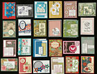 24 Thank You Friendship Birthday handmade greeting cards Stampin Up + more