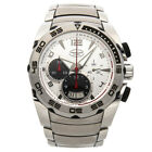 Parmigiani Fleurier Pershing Chrono Steel Auto 45mm Mens Watch PFC528-0010101