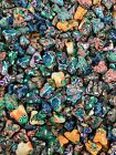 NEW Lot of 100 Polymer Clay Small FROG Pendant 15 18 mm Floral Hippy Skull
