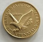 United States Of American Bicentennial Liberty Bell Coin Medal