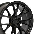 20x9 Gloss Black Wheels SET Fit Challenger Hellcat Rims Charger 300C