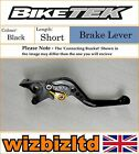 Moto Morini 1200 Scrambler 2008 Onwards [Short Black] [Biketek Pro Brake Lever]