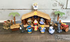 Fisher Price Little People Christmas Story Nativity Set Lights and Sound 2002