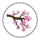 30 CHERRY BLOSSOM TREE BRANCH ENVELOPE SEALS LABELS STICKERS PARTY FAVORS 15