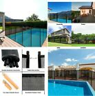 Swimming Pool Fence Section Kit Safety Mesh Barrier Breathable Reinforced Fabric