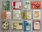 12 Handmade Thinking of You greeting cards envelopes Stampin Up +more