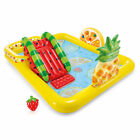Intex FunN Fruity Outdoor Inflatable Kiddie Pool Play Center Slide Open Box