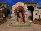 FONTANINI DOMED LITED WELL NATIVITY SET 5 COLLECTION HEIRLOOM RARE
