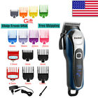 Kemei Hair Clippers Cordless Electric Trimmer for Men Beard Trimmer Machine Kit