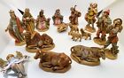 Fontanini Nativity Set 2 1 2 Scale Retired Depose Italy 1989 16 Pieces
