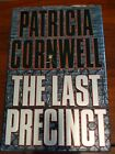 The Last Precinct by Patricia Cornwell AUTOGRAPHED Mystery Hardcover