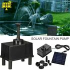 Solar Power Fountain Water Pump Kit Garden Pool Plants Pond Watering with Filter