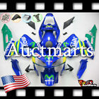For Honda CBR600RR 2003-2004 Fairing Bodywork ABS Movistar Blue Green 1a10 PA