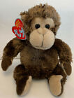 2007 Ty Beanie Babies 2.0 VINES The Monkey Plush Toy 7""