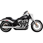 Vance  Hines 17589 HD Exhaust 2 1 Pro Pipe Chrome Milwaukee Eight Soft Tail