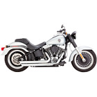 Vance  Hines 17939 HD Exhaust Big Shots Staggered Chrome 2006 2017 Soft Tail