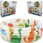 New Intex Inflatable Baby Pool Dinosaur 3 Ring 24in x 85in