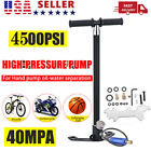 4 Stage 4500 psi High Pressure Air Gun 40MPA Hand Pump Oil And Water Separator