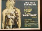 GOLDFINGER 1964 ORIGINAL 22x28 MOVIE POSTER SEAN CONNERY JAMES BOND 007