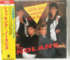 THE NOLANS *RARE* 'GIRLS JUST WANNA HAVE FUN' 1991 JAPAN CD w/ OBI + Slip Sleeve