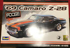 2013 Revell '69 Camaro Z-28 Foose Design 1:12 Scale Model Kit # 85-2811