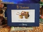 FONTANINI FIG CART 5 Collection Nativity Set Accessory Heirloom NEW RARE
