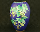 Big Rare Chinese Old Cloisonne Collection flower butterfly Vase Home Deco