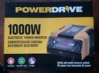 PowerDrive 1000w Inverter PD1000 Bluetooth 4 AC 2 USB Includes Cables